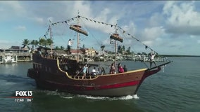 See Florida's wildlife from the Pirate Ship, Dolphin Quest at John's Pass