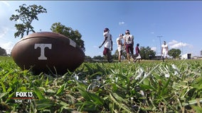 Tarpon Springs football building foundations for future generations