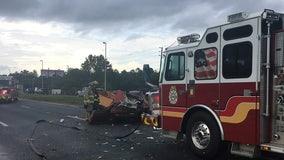 Deadly crash closes U.S. 19 lanes in Hudson
