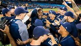 Playoff-bound: Rays clinch wild card with 6-2 win over Blue Jays