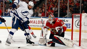Hoffman hat trick leads Panthers to 4-3 win over Lightning