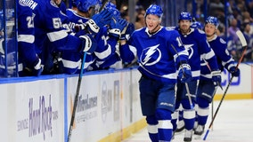 Lightning beat Panthers 5-2 in home opener