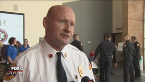 Lakeland interim fire chief made official at swearing-in