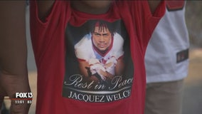 Jacquez Welch honored throughout Northeast homecoming