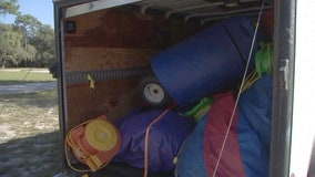 Bounce houses recovered after being stolen from Hernando church