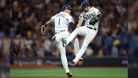 Rays beat Astros 4-1 to even ALDS