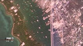 High-tech effort underway to remap Bahamas after Dorian