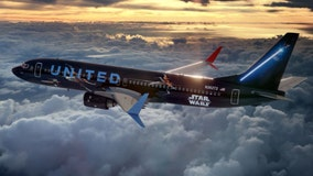 Star Wars-themed plane added to United Airlines fleet to celebrate 'Star Wars: The Rise of Skywalker'