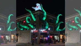 'Ghostbusters' Halloween decorations at Pennsylvania restaurant earn praise