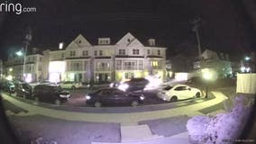 Video: Suspected drunk driver crashes into 7 parked cars in West Chester