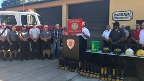 Parrish Fire District donates truck to Caribbean Fire Rescue in Bahamas