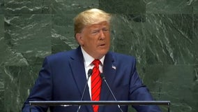 At UN, Trump focuses on religious freedom, not climate