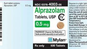 Xanax recalled over 'foreign substance' concerns, FDA says
