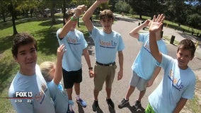 Teens race to bring awareness to teen mental health