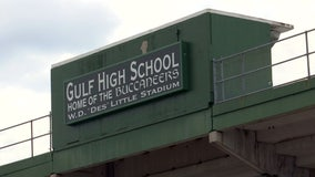 Gulf High School in New Port Richey is canceling the remainder of its football season
