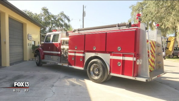 Parrish Fire District donates truck to Bahamas