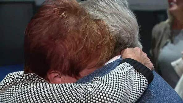 Michigan sisters meet after 75 years