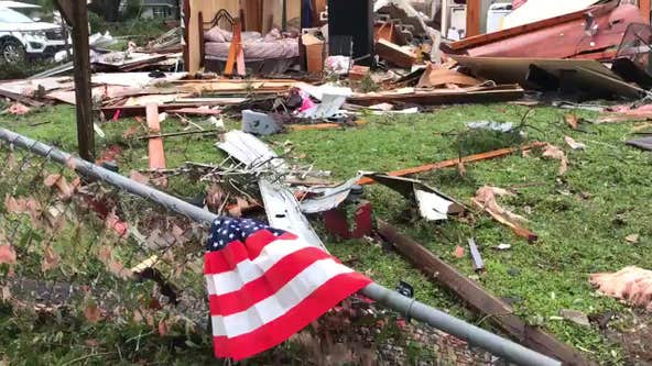 National Weather Service confirms EF-2 tornado touched down in Polk County