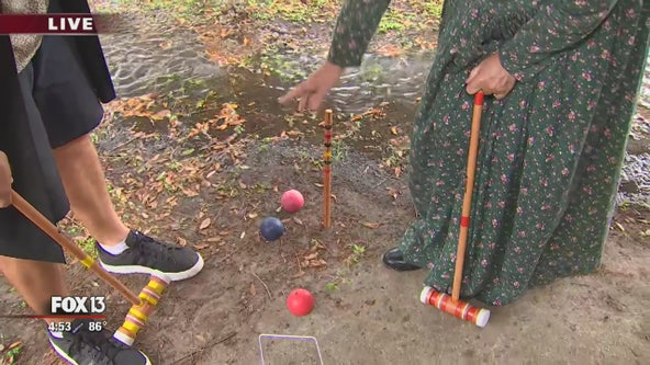 Croquet at Cracker Country