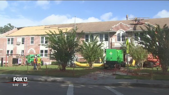 Custodians sheltered in closet as tornado ripped roof from Kathleen Middle