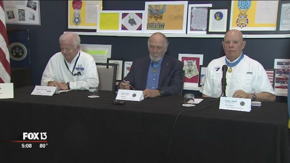 Medal of Honor recipients in Tampa to inspire others