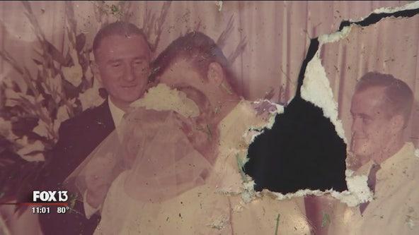 Wedding photo found in Kathleen tornado debris