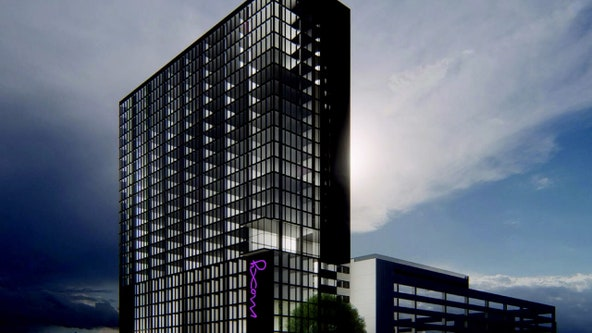 Boutique-style Moxy Hotel adding 25 stories to Tampa skyline