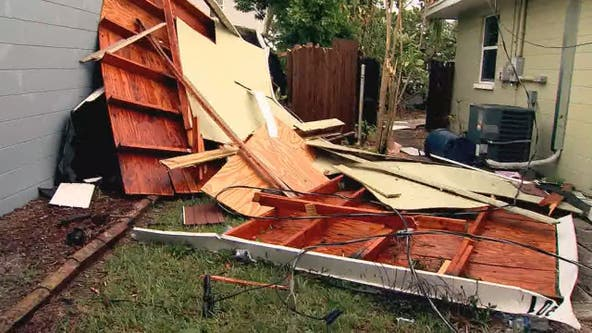 Homes damaged in Seminole after tornado hits