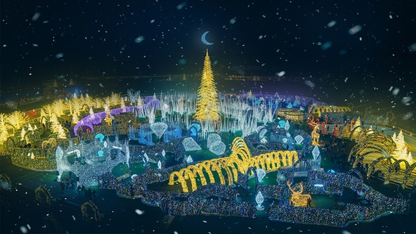 Tropicana Field will light up for the 'World's largest Christmas light maze'