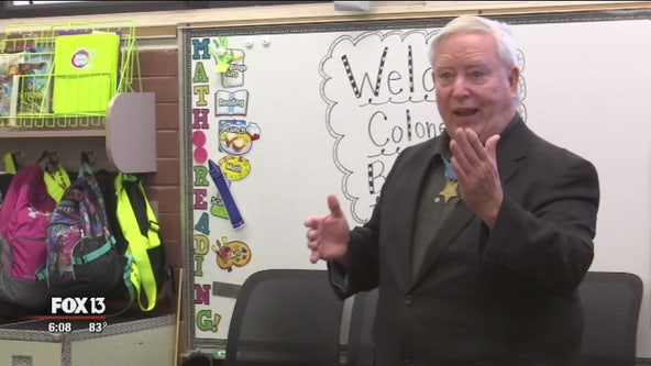 Medal of Honor recipient inspires Deer Park elementary students