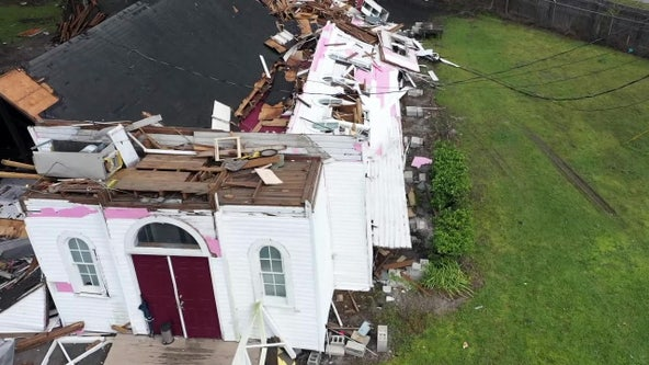 Century-old Lakeland church building shredded by tornado