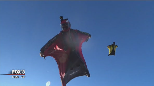 National skydiving champion eyes world title from Zephyrhills