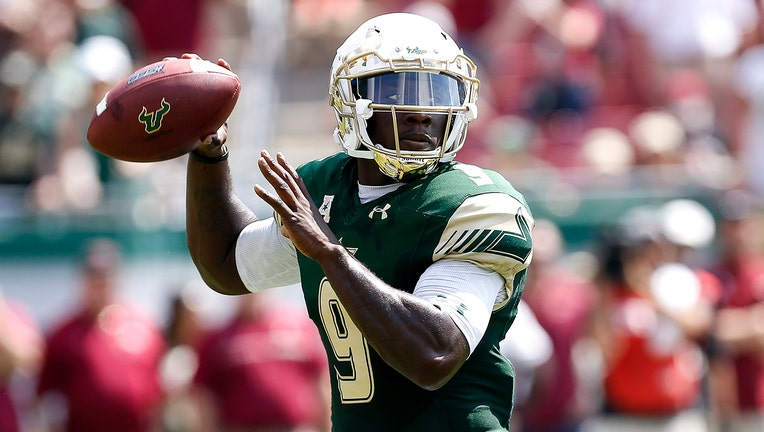 XFL draft Quinton Flowers, former USF football star