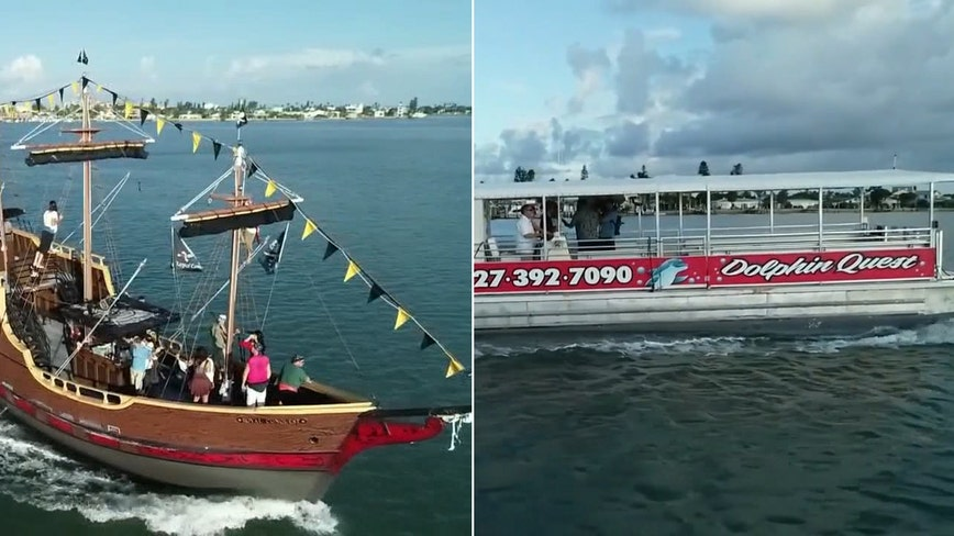 Ahoy Mateys: Pirate Ship, Dolphin Quest at John's Pass are guaranteed to get you hooked