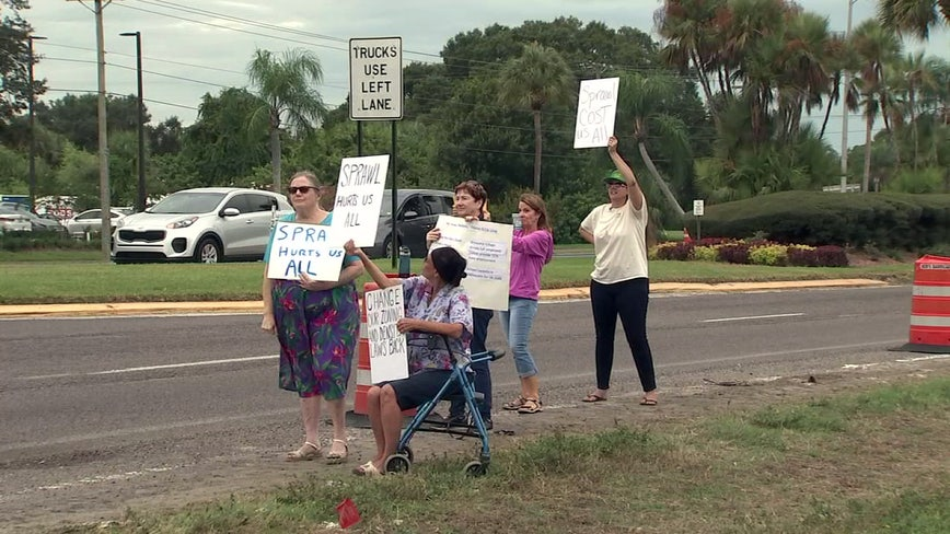 Southern Hillsborough residents call for development moratorium