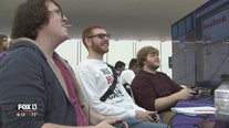 Student developers show off their first games
