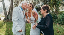 Dream wedding donated to couple so grandfather could attend