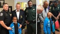 Florida deputy, nonprofit surprise boy fighting cancer with Disney World trip