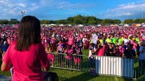 Thousands join FOX 13 for Making Strides Against Breast Cancer walk