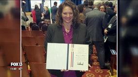 White House honors outstanding Robinson High teacher