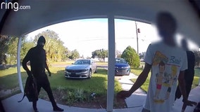 Polk deputies search for home invasion suspects