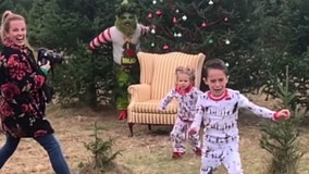 Kids not too excited to meet the Grinch in hilarious viral video