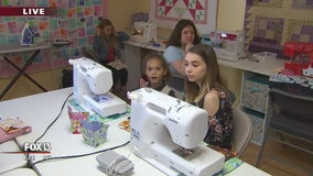 Where students can sharpen their sewing skills