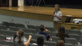 Durant High senior holds seminar to educate parents, students about vaping dangers