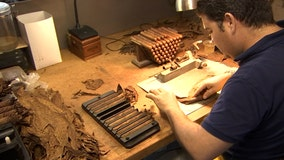 Hand-rolling cigars remain a tradition at J.C. Newman Cigar Company