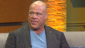 Former WWE champion Kurt Angle discusses Tampa playing host to the next WrestleMania