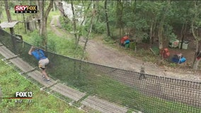 Take a walk through the canopy of Dade City