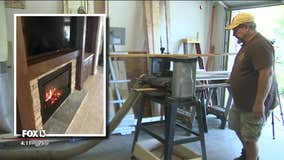 Tampa man uses reclaimed wood in home renovations