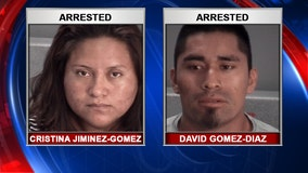 Neighbors find 1-year-old who fell from second-story balcony; caretakers charged