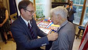 Atlanta 94-year-old WWll bomber pilot awarded France's highest honor
